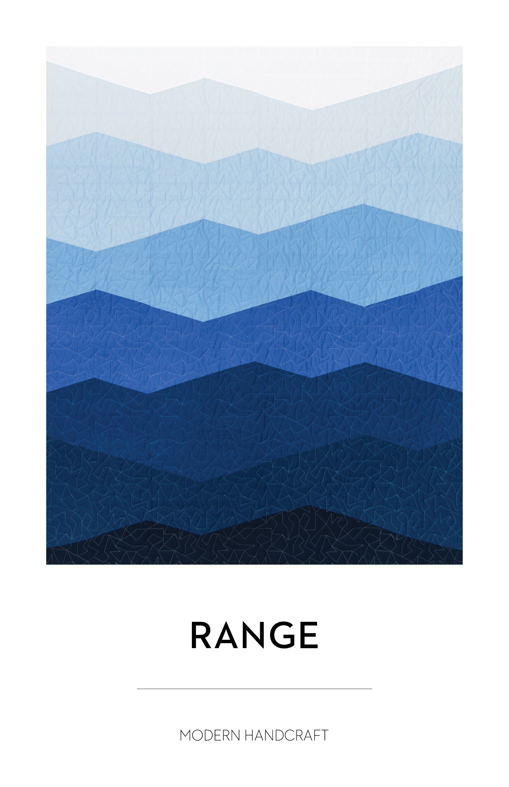 Range Quilt Pattern by Modern Handcraft