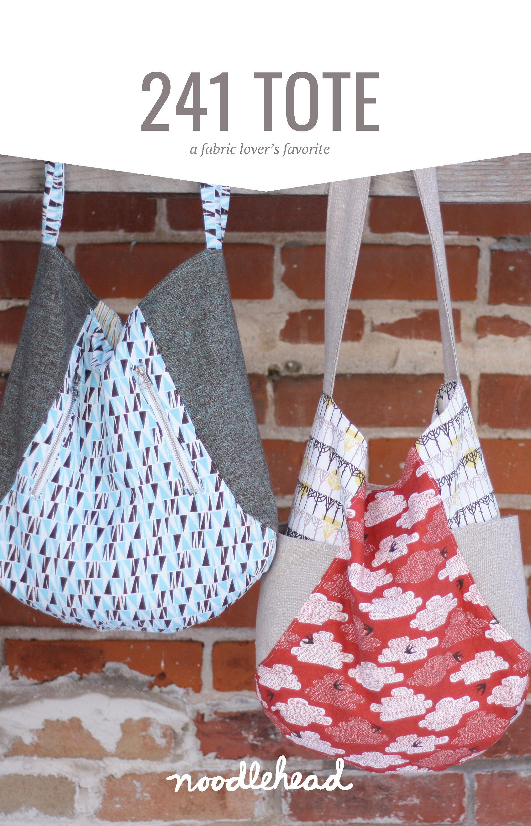 241 Tote Sewing Pattern by Noodlehead
