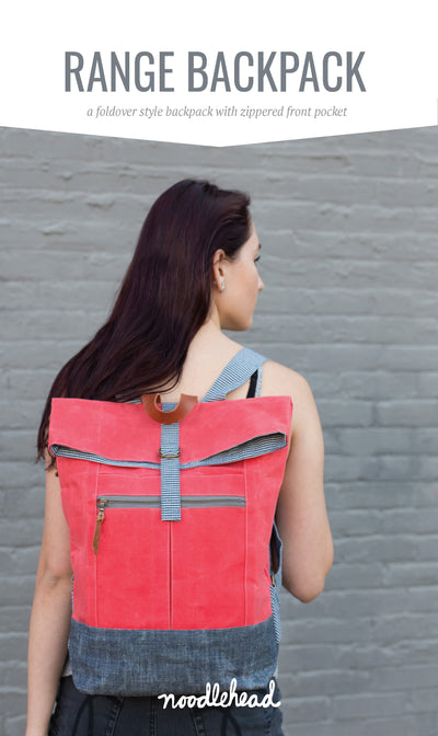 Range Backpack Sewing Pattern by Noodlehead