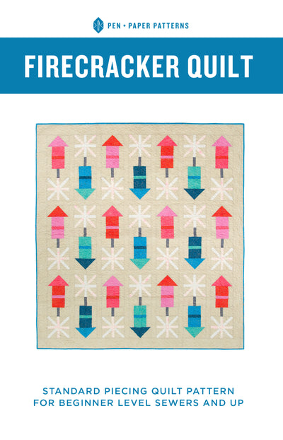 Firecracker Quilt Pattern by Pen and Paper Patterns