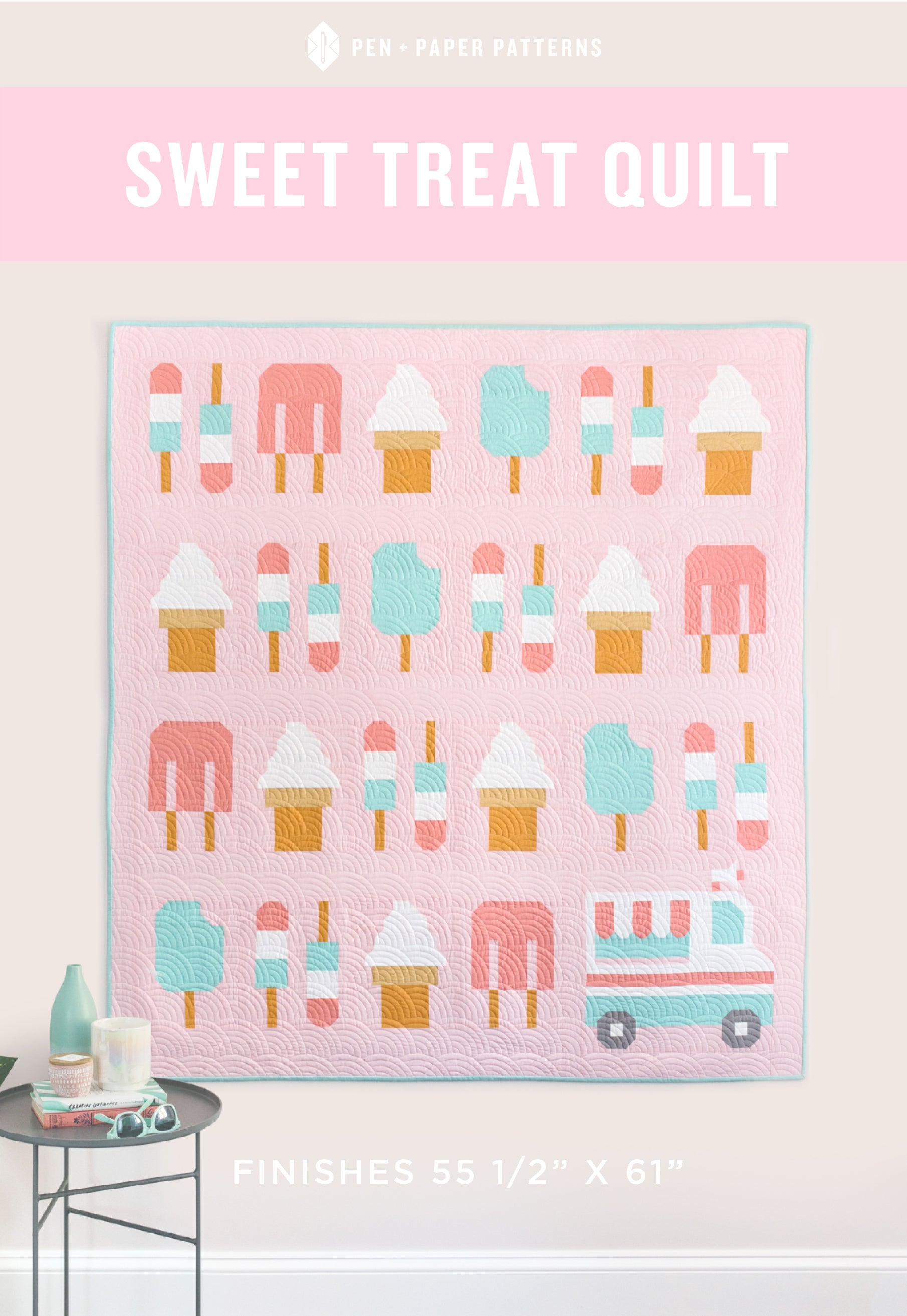 Sweet Treat Quilt Pattern by Pen and Paper Patterns