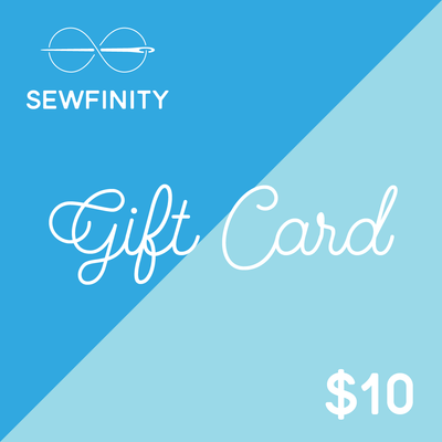 Sewfinity $10 Gift Card