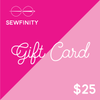 Sewfinity $25 Gift Card