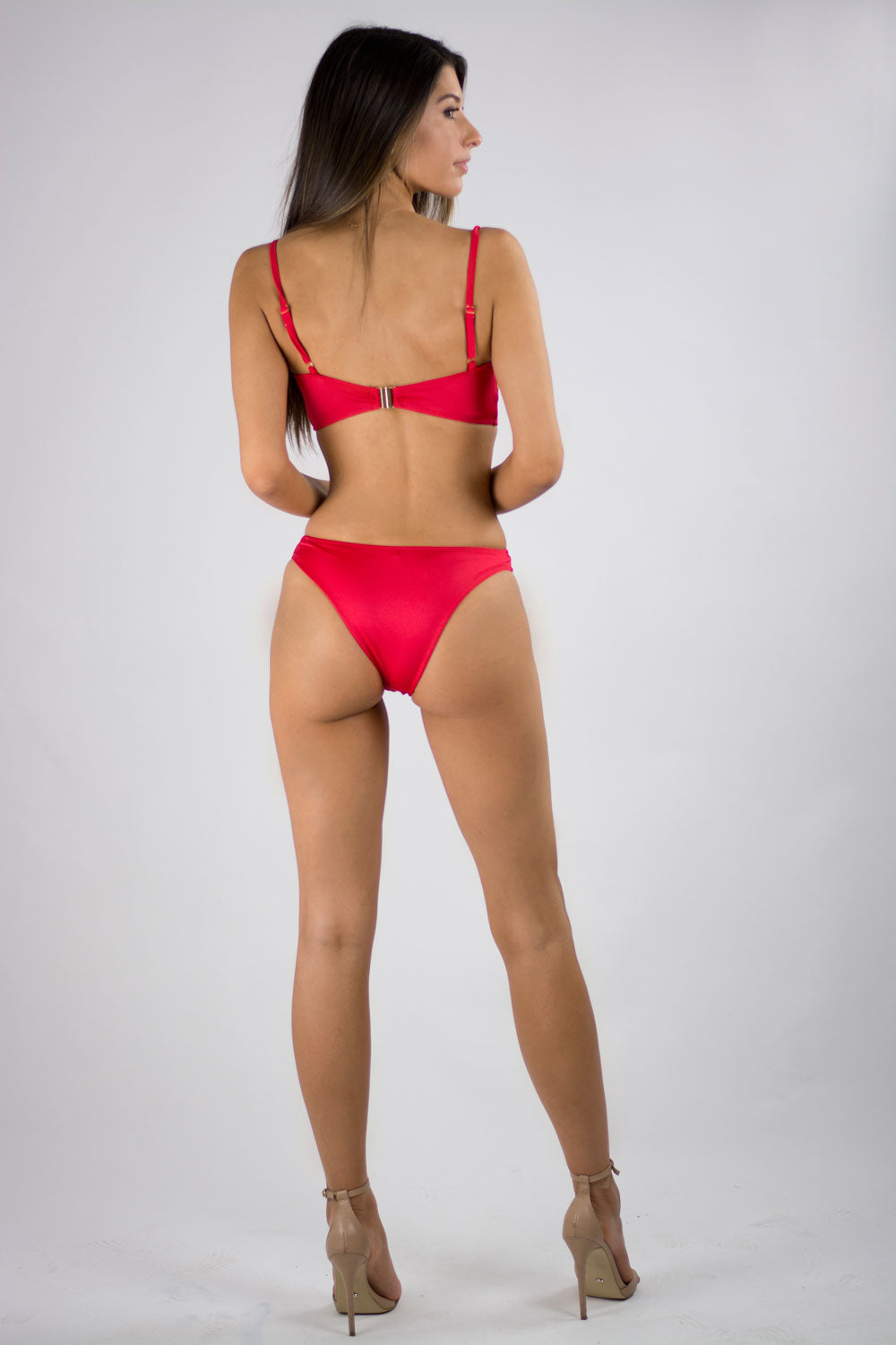 POPPY APPLIQUE BIKINI SET