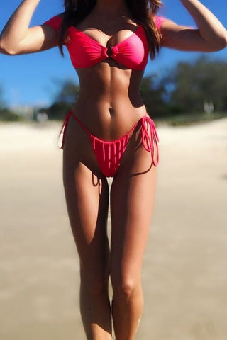 SLASH BIKINI SET