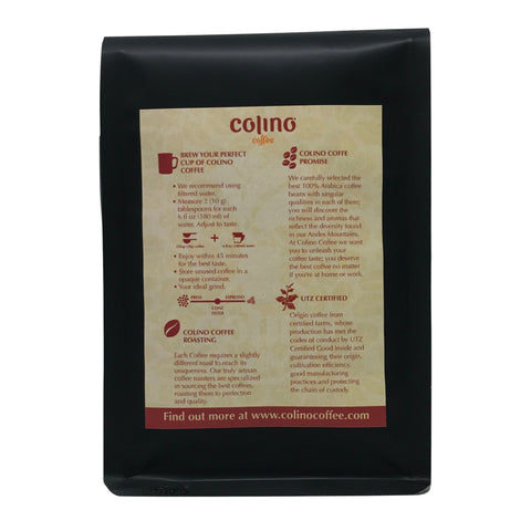 Colino Coffee Roasting, Drip information