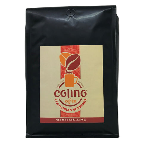 Image of best colombian supremo coffee