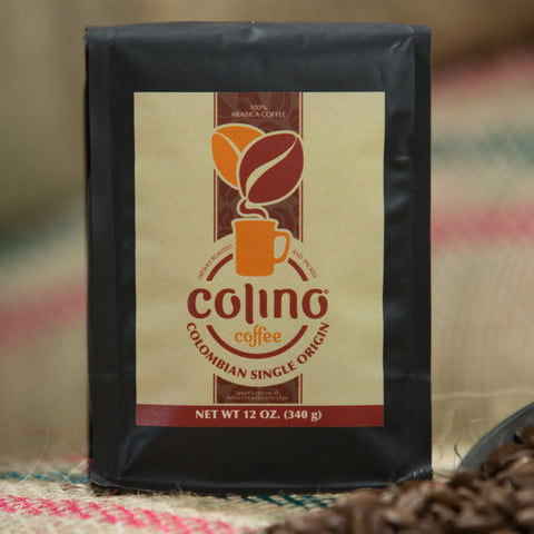 Image of colombian single origin coffee