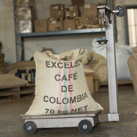 Image of colombian supremo coffee beans