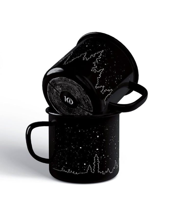 Image of product: Black Enamel Juniper Camp Mug