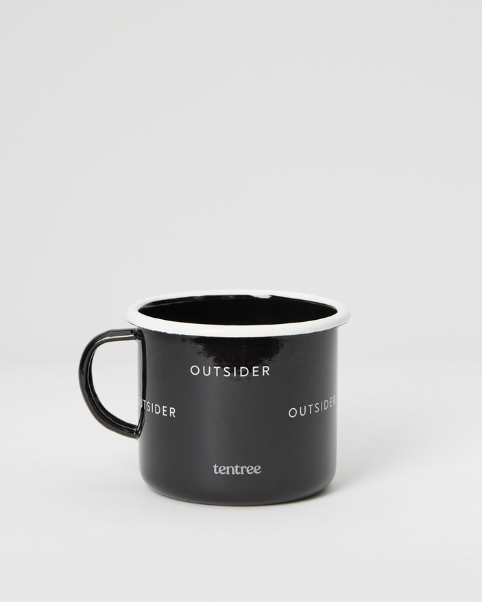 Image of product: Black Juniper Enamel Camp Mug