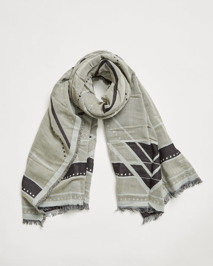 Image of product: Linear Mountain Blanket Scarf