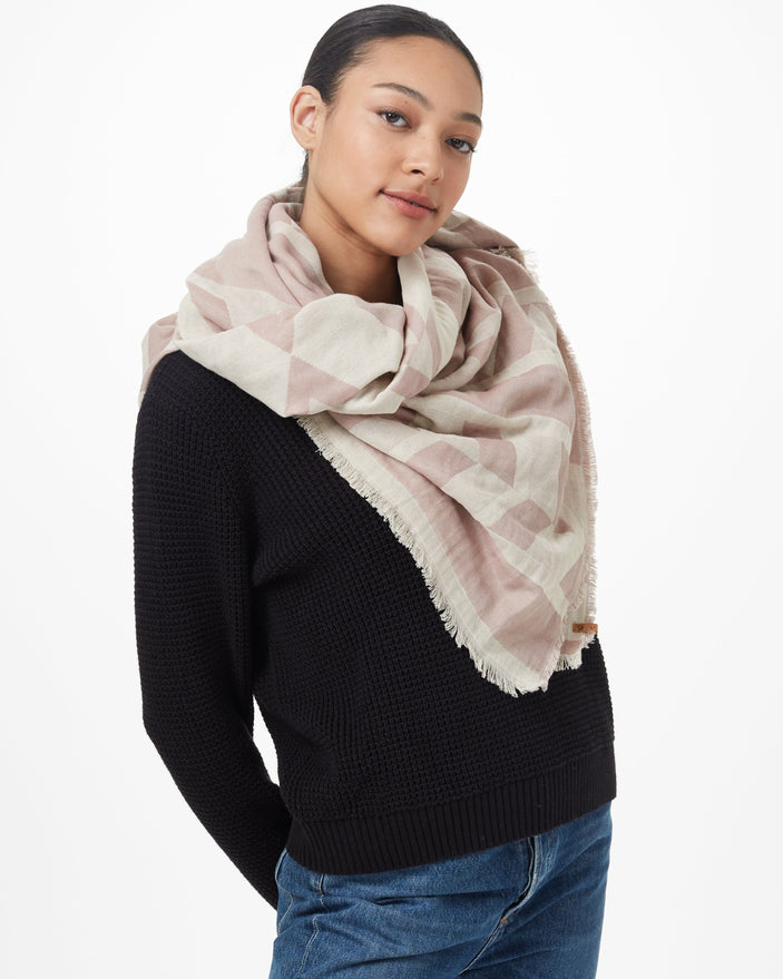 Image of product: Cotton Geo Blanket Scarf