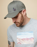 Image of product: Peru Embroidered Llama Elevation Hat