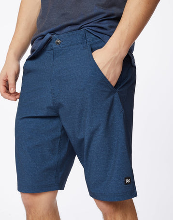 LINEN TEXTURE AOP DARK DENIM NAVY_gallery