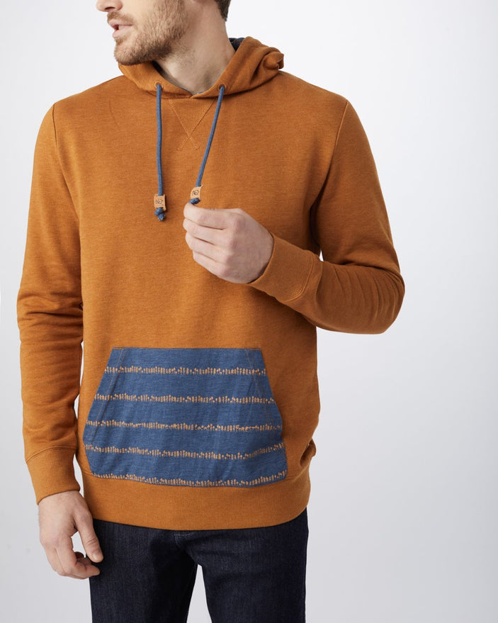 BROWN SUGAR_SUPPORT STRIPE AOP DARK DENIM NAVY BROWN SUGAR_gallery