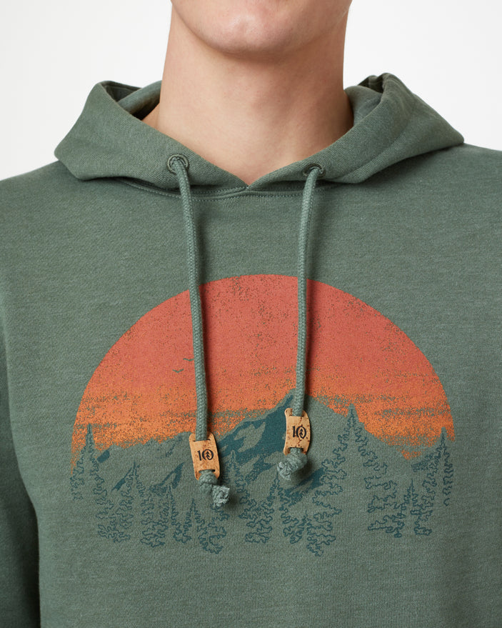 Image of product: M Vintage Sunset Classic Hoodie