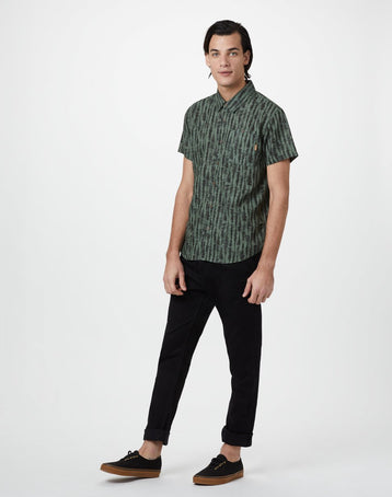 Image of product: M Hemp Shortsleeve Button Up