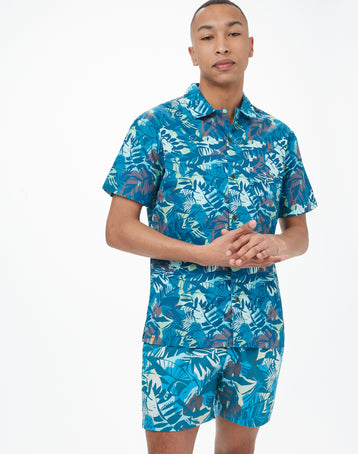 Image of product: M Quartz Short Sleeve Button Up