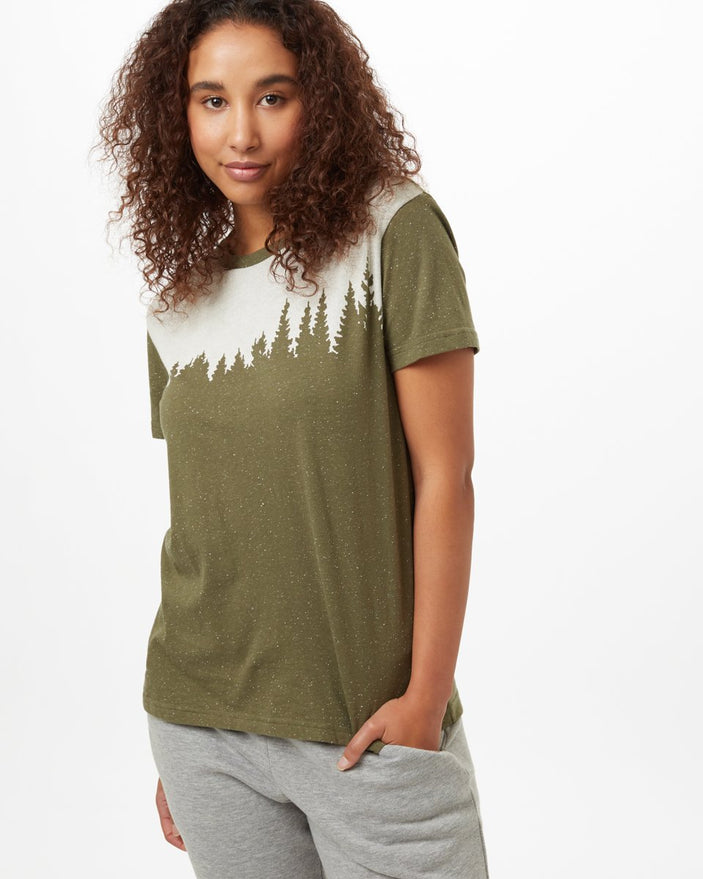 Image of product: W Snow Juniper T-Shirt