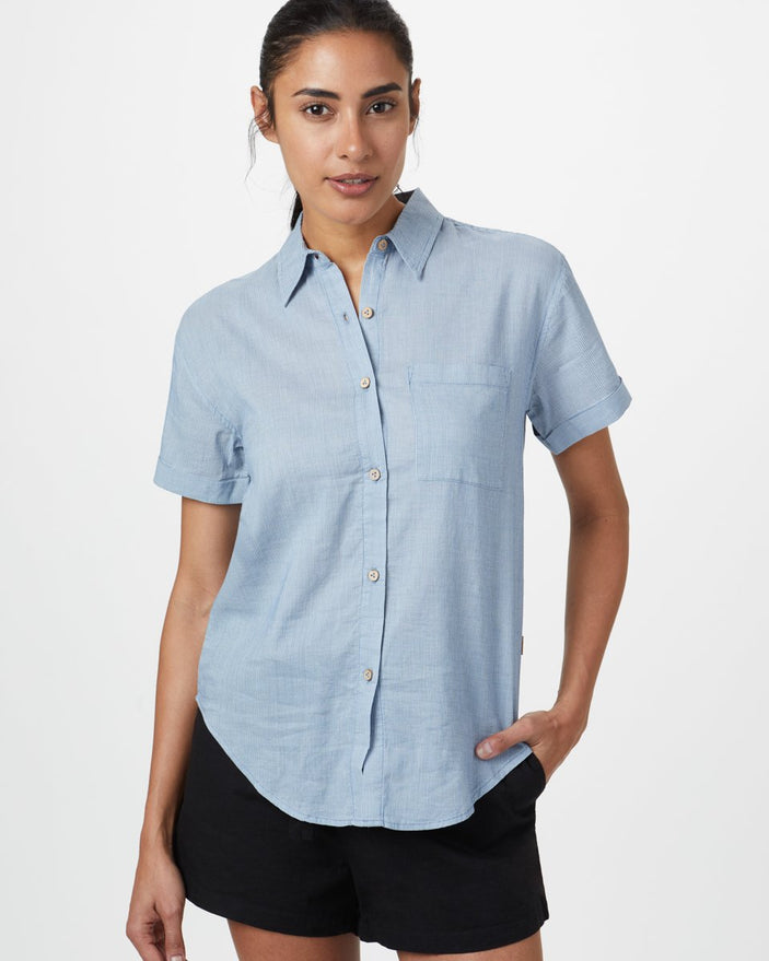 Image of product: W Isa Woven Button Up