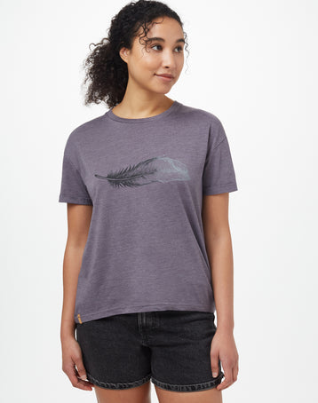 Image of product: Women's Featherwave Relaxed T-Shirt