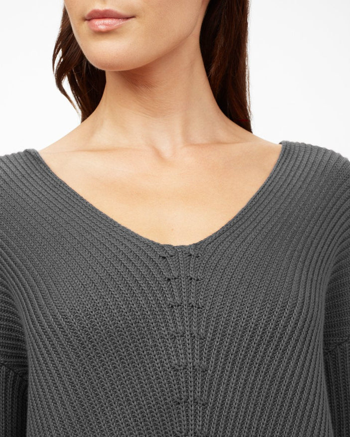 Image of product: Highline Cotton V-Neck Sweater