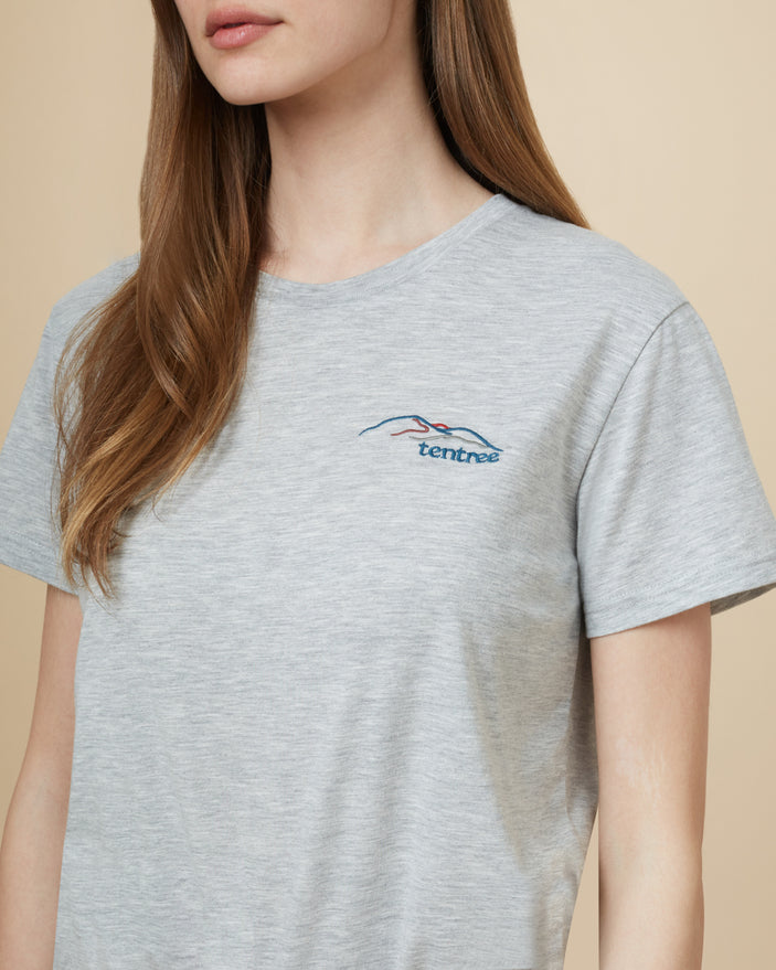 Image of product: W Peru Wordmark Mountain T-shirt