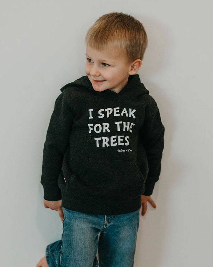 Image of product: Kids Lorax Speak For The Trees Hoodie