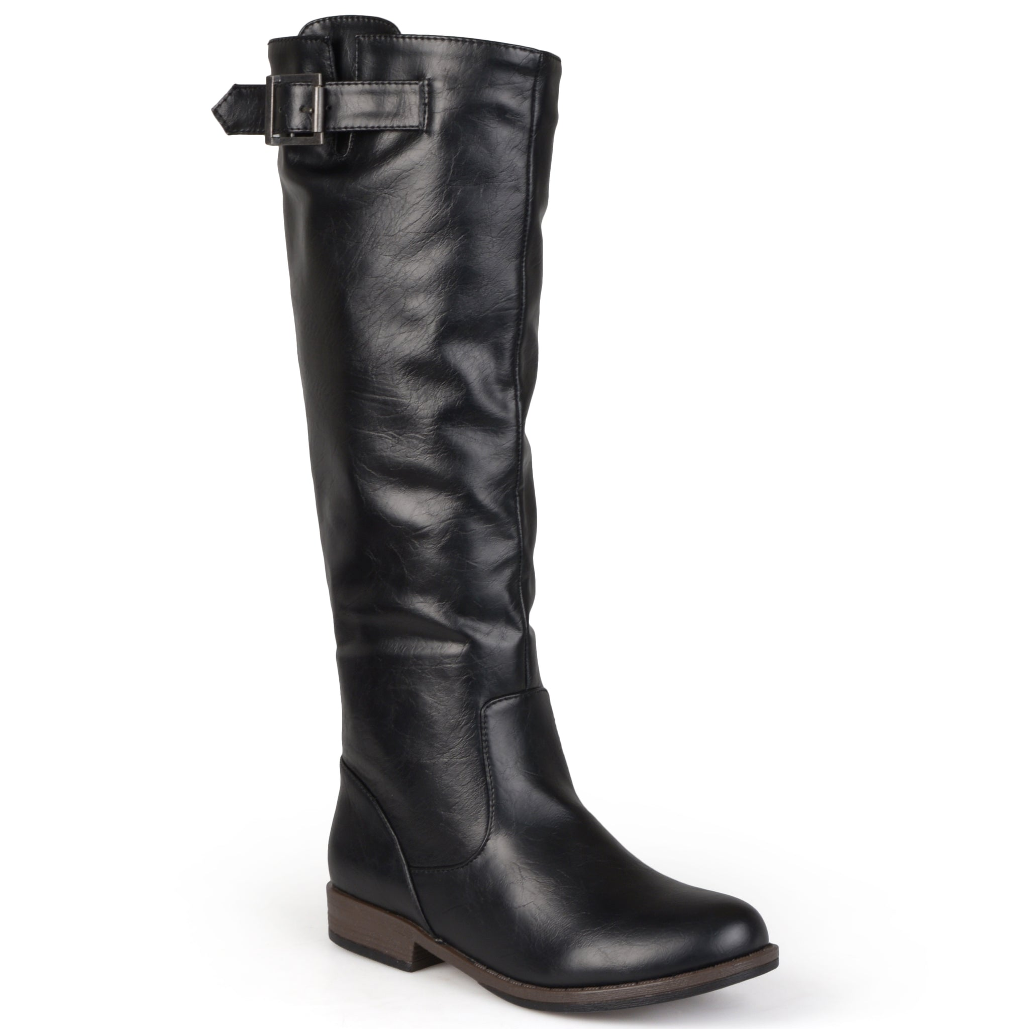 Buckle Knee-high Riding Boot