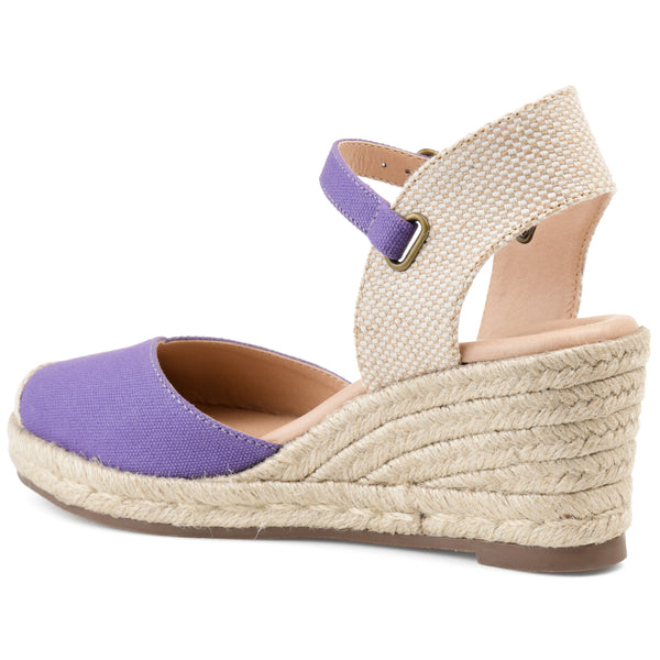 Wrap Espadrille Wedge