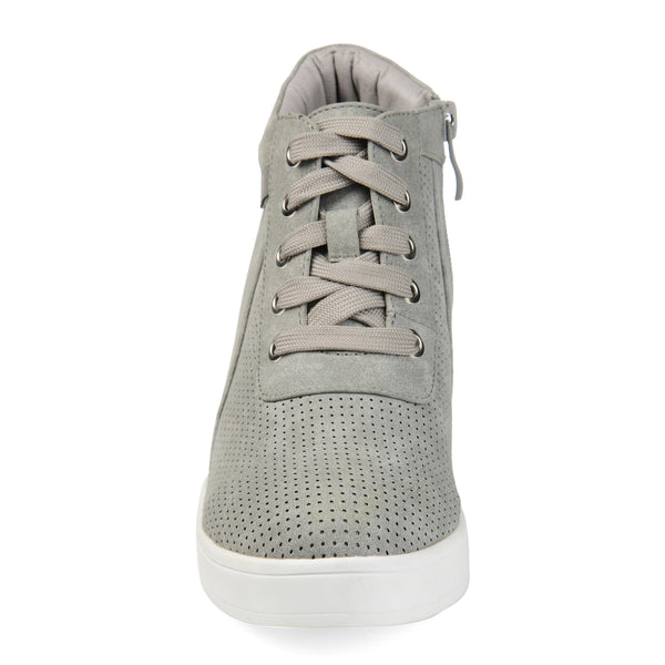 Two-tone Wedge Sneaker