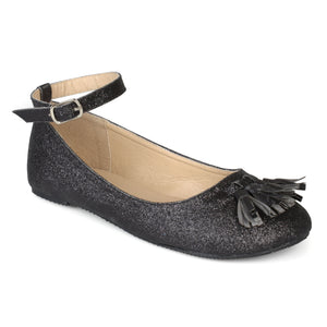 Ankle Strap Glitter Dress Shoes