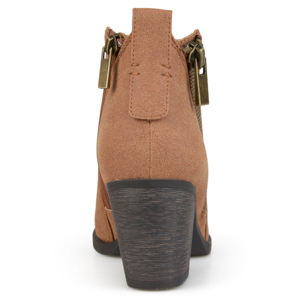 Zippered High Heeled Booties