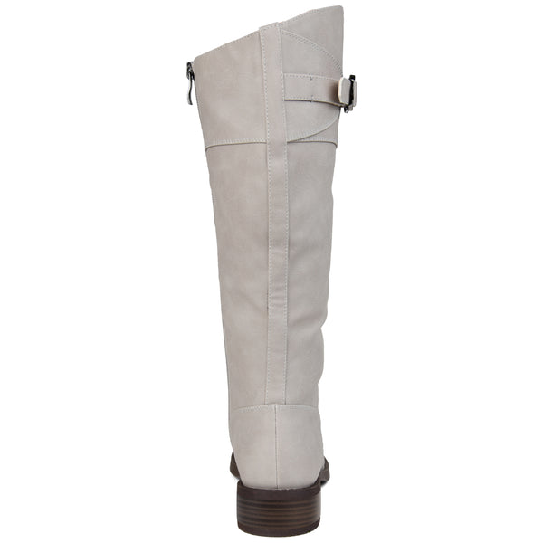 Buckled Riding Boot