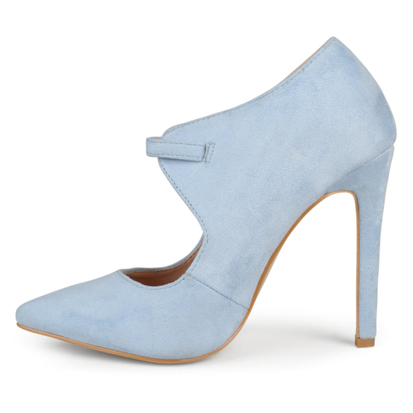Cut-out Pointed Toe Heels