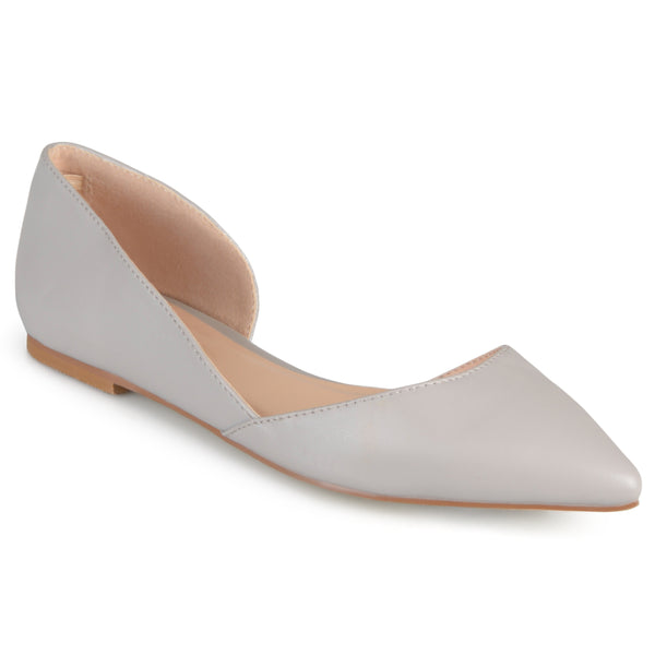 Pointed Toe Slip-On Flat