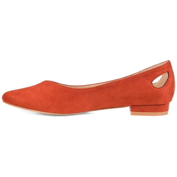 Classic Heel Cut-out Flat