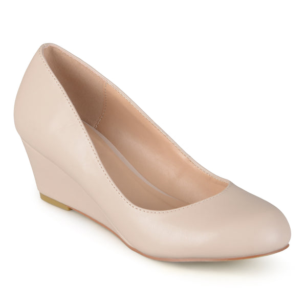 Classic Round-Toe Small Wedge