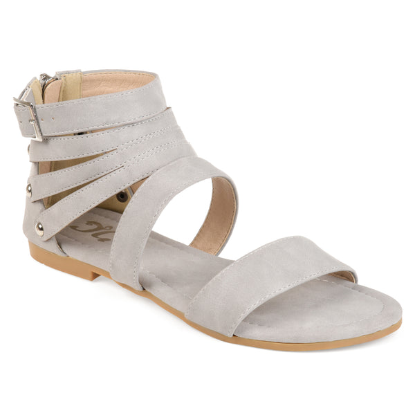 Strappy Buckle Gladiator Sandals