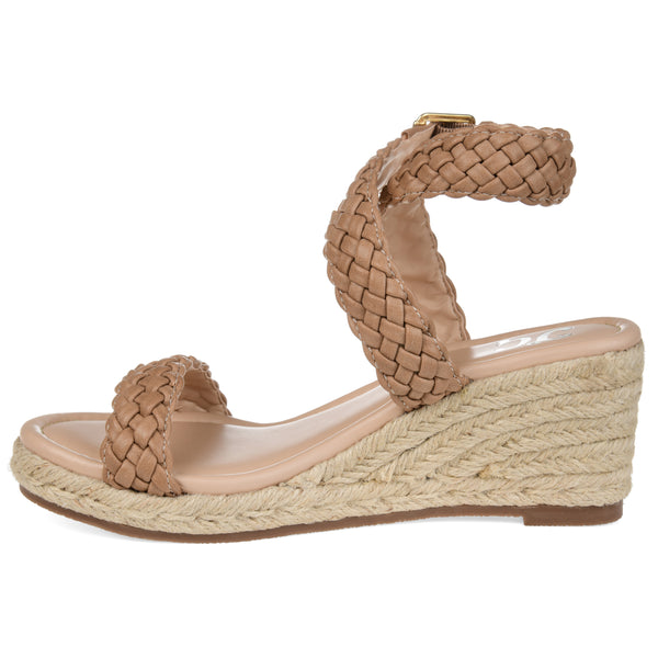 Woven Espadrille Wedge