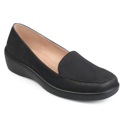 Square Toe Comfort Sole Loafers