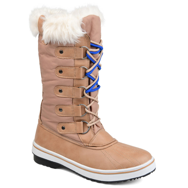 Waterproof Faux Shearling Tall Duck Boot