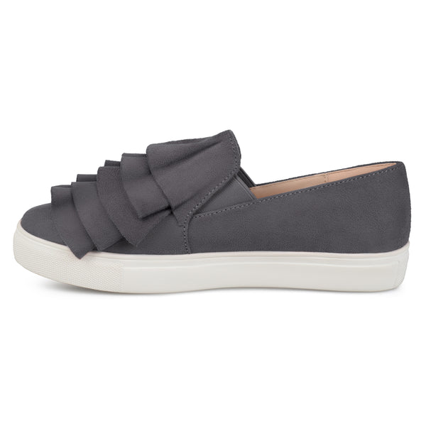 Ruffle Slip-on Sneakers