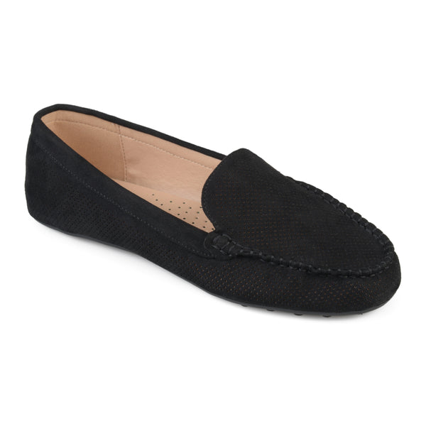 Laser Cut Comfort Sole Loafers