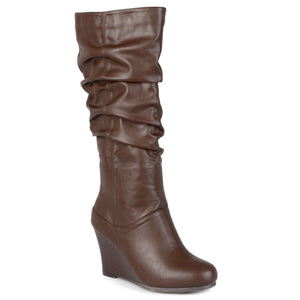 Slouch Knee-High Dress Boot