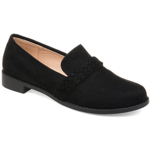 Braided Strap Comfort Sole Loafer