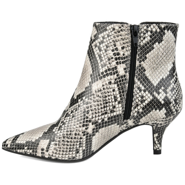Pointed Toe Heeled Bootie