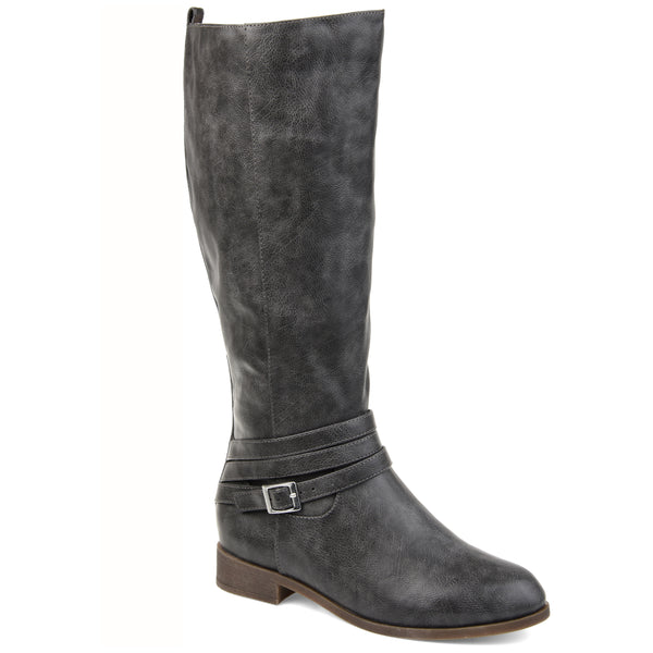 Timeless Buckle Wrap Riding Boot
