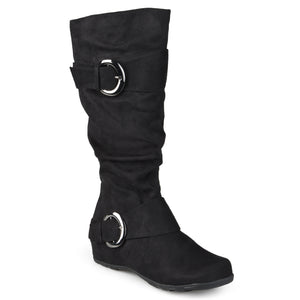 Slouch Knee-High Microsuede Extra Wide Calf Boot